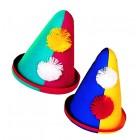 Clown-Spitzhüte