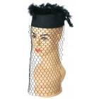 Damenhut mit Netz