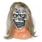 Maske Skull mit  Haaren