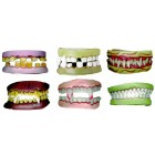 Zähne sortiert