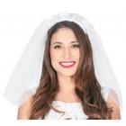 Brautschleier weiß