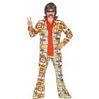 Anzug gemustert 70er